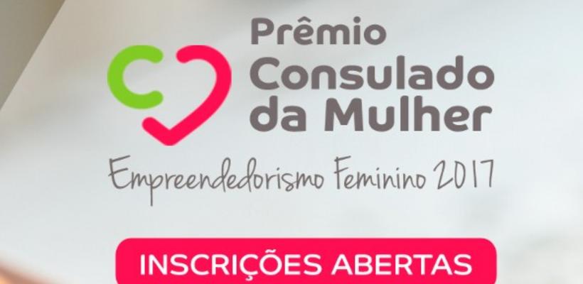 Prêmio Consulado da Mulher tem inscrições abertas