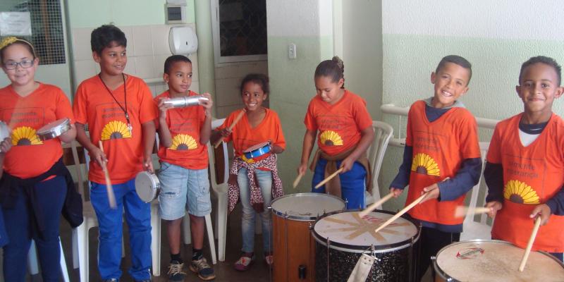 Semente Esperança utiliza música como instrumento de  fortalecimento de vínculos