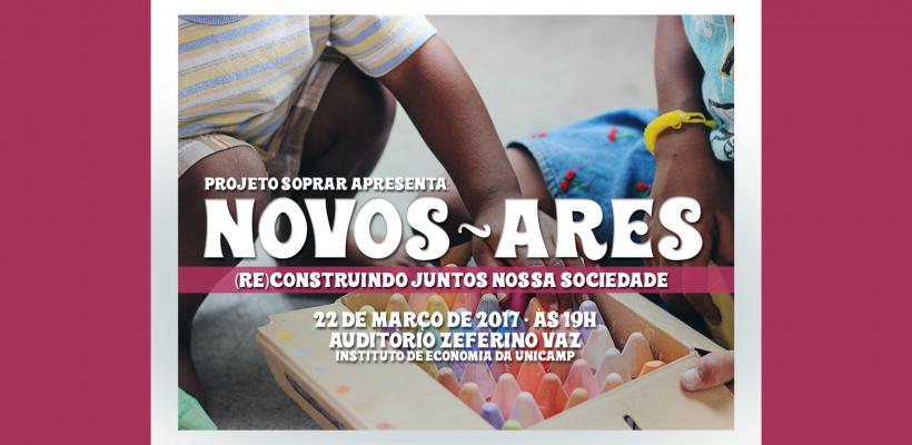 Projeto Soprar promove evento Novos Ares