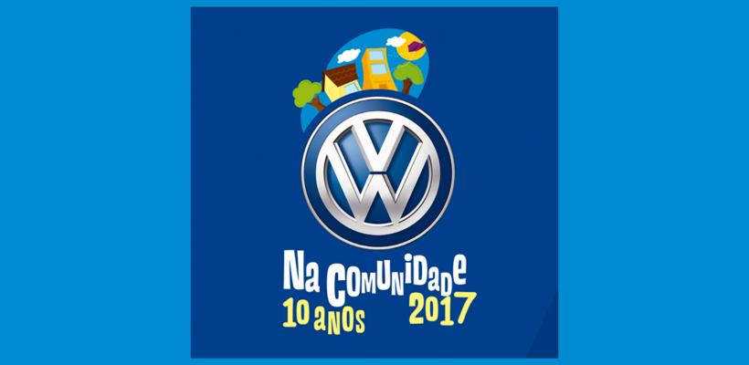 """Fundação Volkswagen abre inscrições para 10ª edição do """"Volkswagen na Comunidade"""""""
