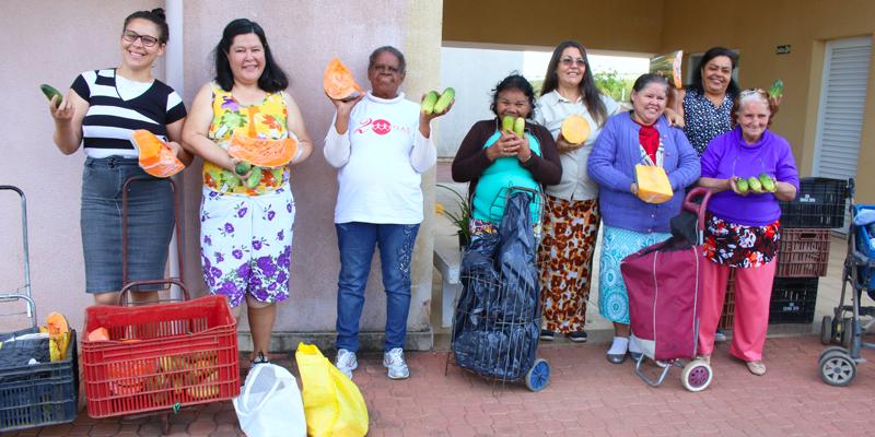 Articulação entre instituições leva alimentação saudável para famílias em situação de vulnerabilidade social