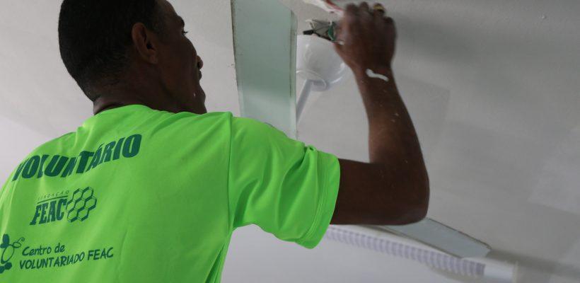 Casa de Apoio à Vida recebe mutirão de pintura no sábado, 28 de outubro