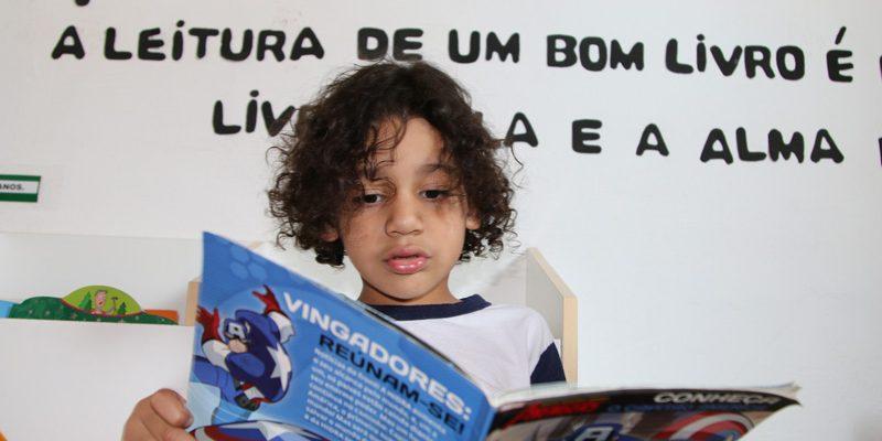 Incentivo à Leitura Na Educação Infantil Auxilia Processo De