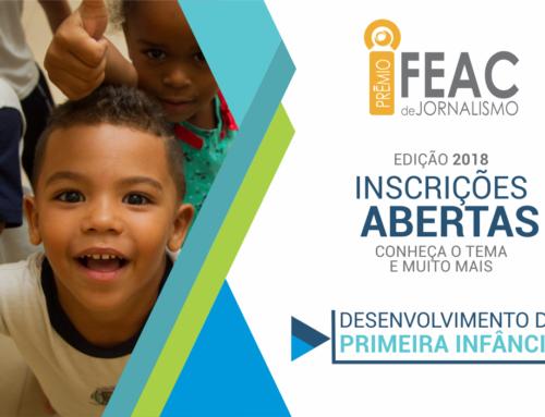 21ª edição do Prêmio FEAC de Jornalismo evidencia desenvolvimento infantil
