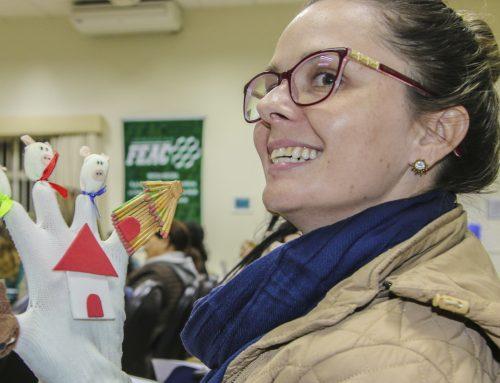 Motiva inspira voluntários a entrar no mundo da contação de histórias