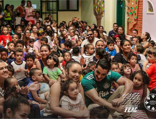 Famílias participam de encontro sobre fortalecimento das relações afetivas