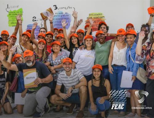 Parceira do evento, FEAC orienta voluntários interessados em participar da Virada Sustentável de Campinas