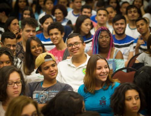 Evento reúne 3 mil alunos gremistas e incentiva o protagonismo na formação de jovens cidadãos